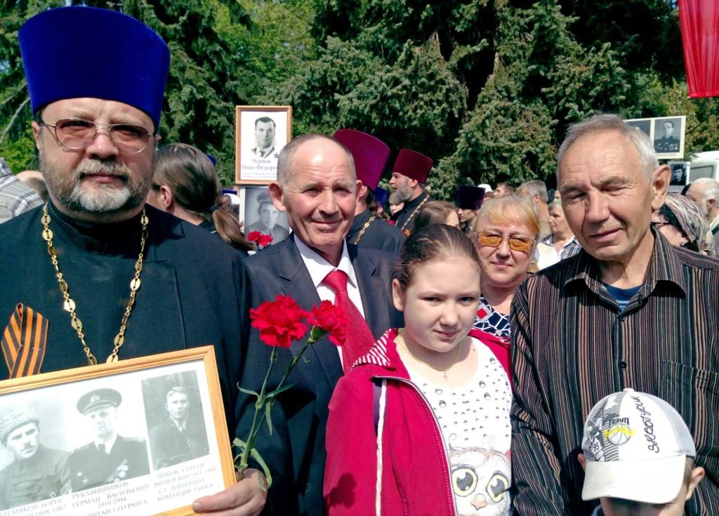 День Победы на приходе Никитского храма города Коломны